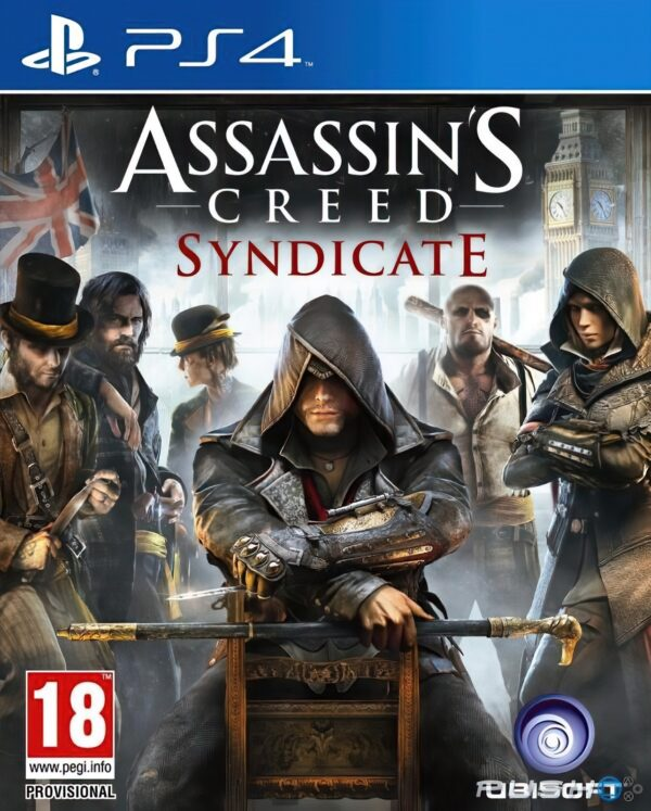 Assassin's Creed Syndicate PS4 1