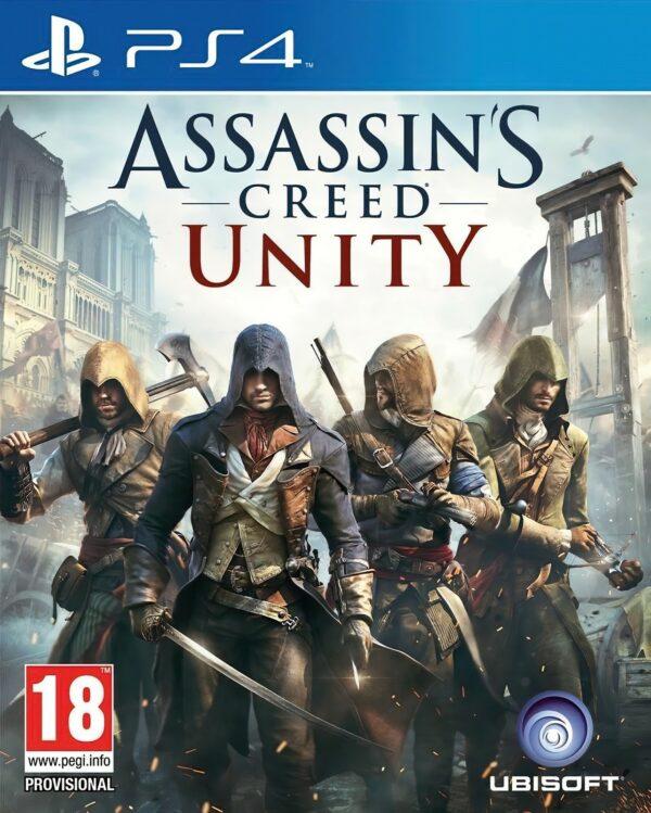 Assassin's Creed Unity PS4 1