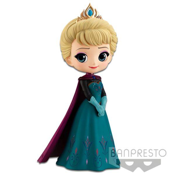 Q Posket 14cm Frozen ELSA Coronation Style Normal 1