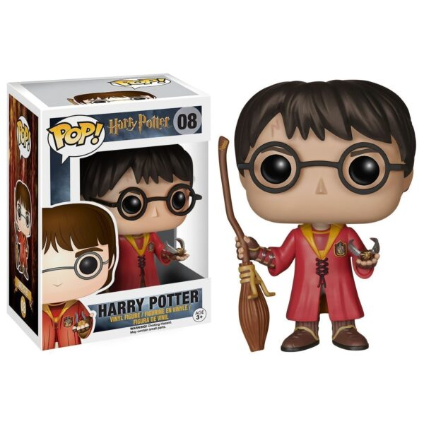Funko PoP! Harry Potter 08 Harry Potter Quidditch 1