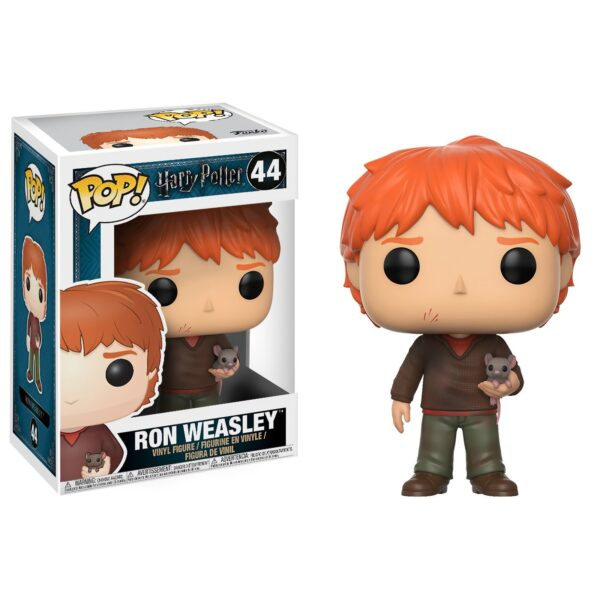 Funko PoP! Harry Potter 44 Ron Weasley with Scabbers 1