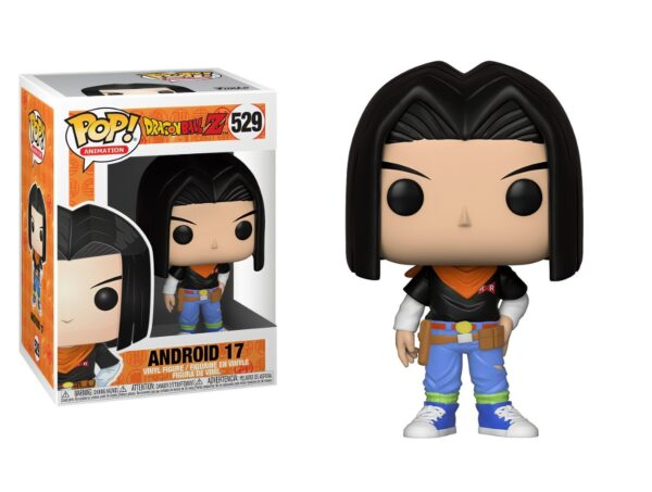 Funko Pop! Dragon Ball 529 Android 17 (Not mint) 1