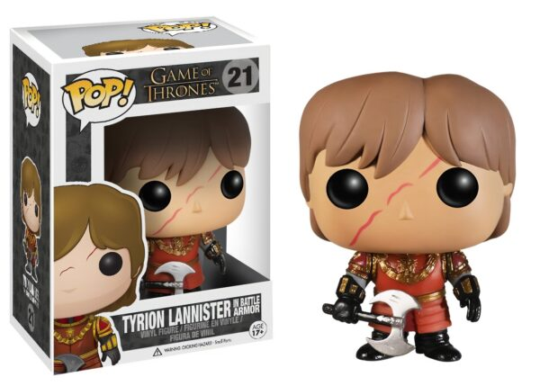 Funko Pop! Game of Thrones 21 Tyrion Lannister in Battle Armor (Not mint) 1