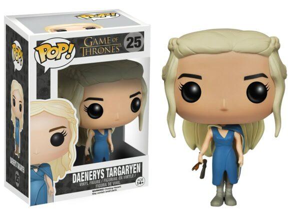 Funko Pop! Game of Thrones 25 Daenerys Targaryen Blue Dress 1