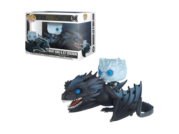 Funko Pop! Rides Game of Thrones 58 Night King & Icy Viserion 1