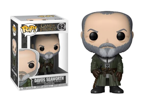 Funko Pop! Game of Thrones 62 Davos Seaworth 1