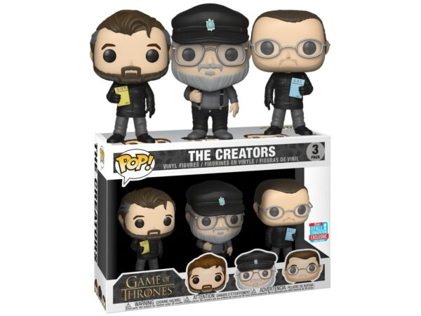 Funko Pop! Game of Thrones The Creators 3 Pack NYCC 2018 1