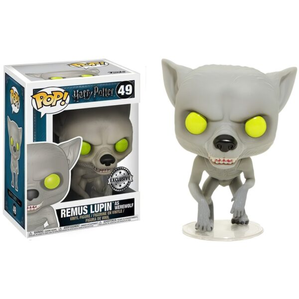 Funko Pop! Harry Potter 49 Remus Lupin as Werewolf Exclusive 1