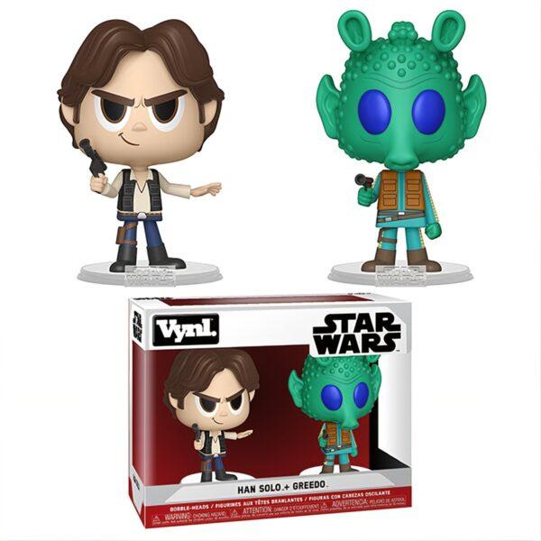 Funko Vynl. Star Wars A New Hope Han Solo + Greedo 1