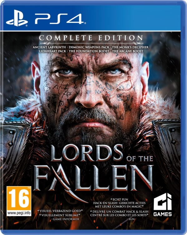Lords of the Fallen Complete Edition PS4 1