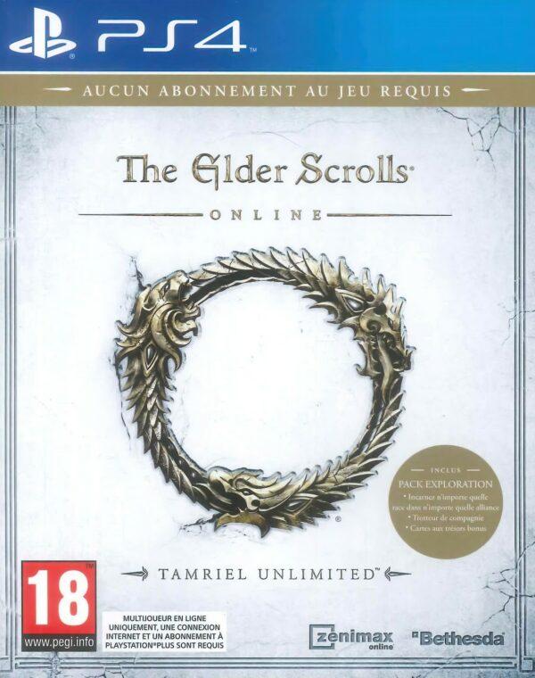 The Elder Scrolls PS4 Tamriel Unlimited 1