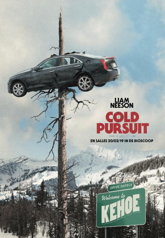 Affiche belge de Cold Pursuit