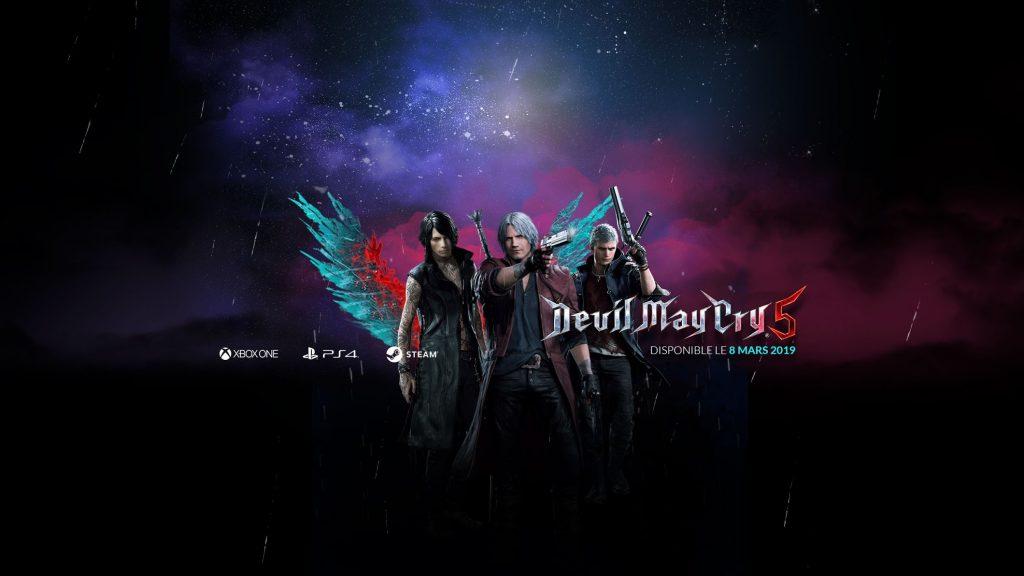 Devil May Cry 5 - Dispo le 8 mars 1