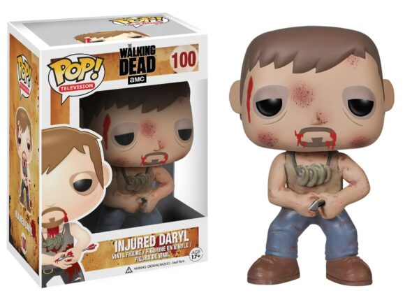Funko POP! The Walking Dead 100 INJURED DARYL (Not mint) 1