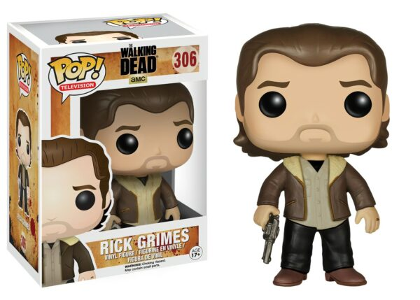 Funko POP! The Walking Dead 306 RICK GRIMES Season 5 1
