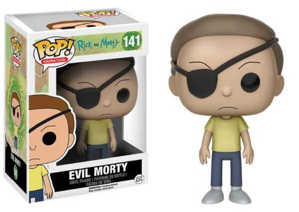 Funko PoP! Rick and Morty 141 EVIL MORTY (Not mint) 1