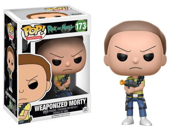 Funko PoP! Rick and Morty 173 WEAPONIZED MORTY 1