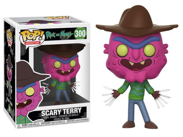 Funko PoP! Rick and Morty 300 SCARY TERRY 1