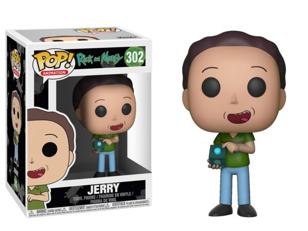 Funko PoP! Rick and Morty 302 JERRY 1