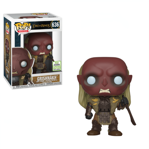 Figurine PoP Lord of the Rings 636 Grishnakh ECCC 2019