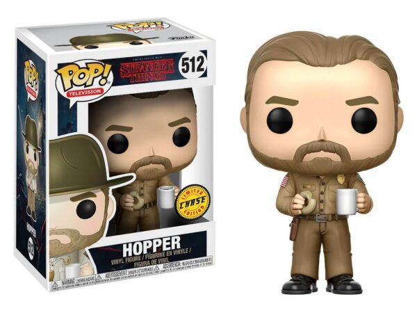 Funko PoP Stranger Things 512 HOPPER CHASE (Not mint) 1