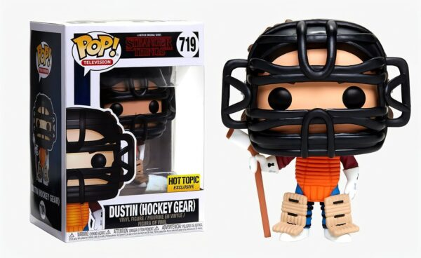 Funko PoP Stranger Things 719 DUSTIN HOCKEY GEAR Hot Topic 1