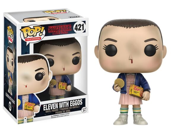 Funko Pop Stranger Things 421 ELEVEN WITH EGGOS 1