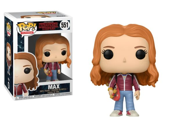 Funko Pop Stranger Things 551 MAX with Skate 1