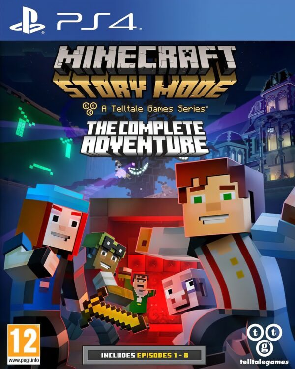 Minecraft Story Mode the Complete Adventure PS4 1