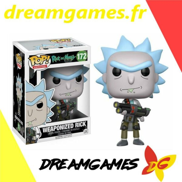 Funko PoP! Rick and Morty 172 WEAPONIZED RICK 1