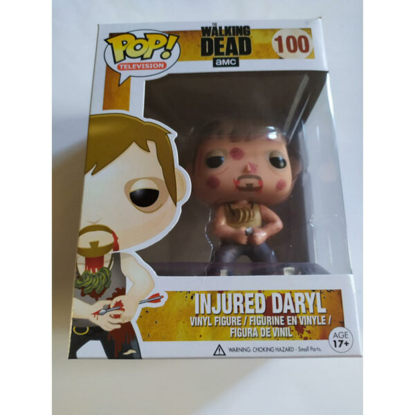 Funko POP! The Walking Dead 100 INJURED DARYL (Not mint) 2