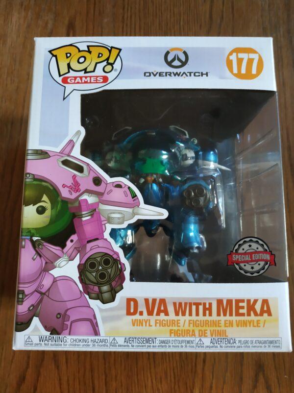 Funko Pop! Overwatch 177 D.VA with Meka (Not mint) 1
