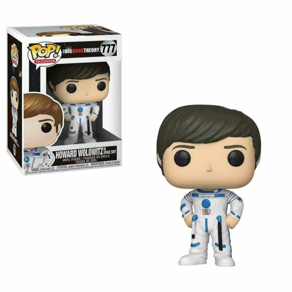 Funko PoP Big Bang Theory 777 HOWARD WOLOWITZ in SPACE SUIT 1