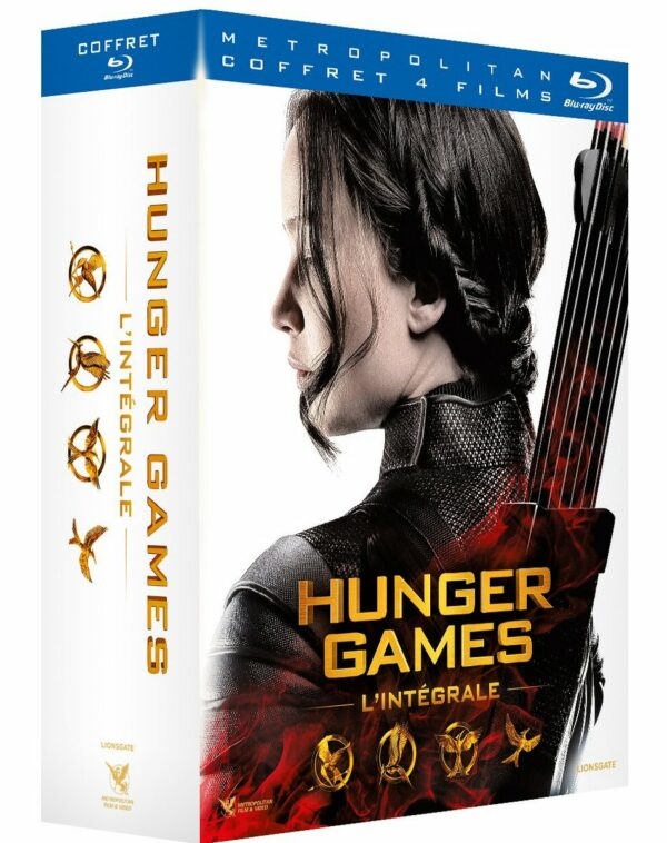 Hunger Games Bluray - les 4 films 1