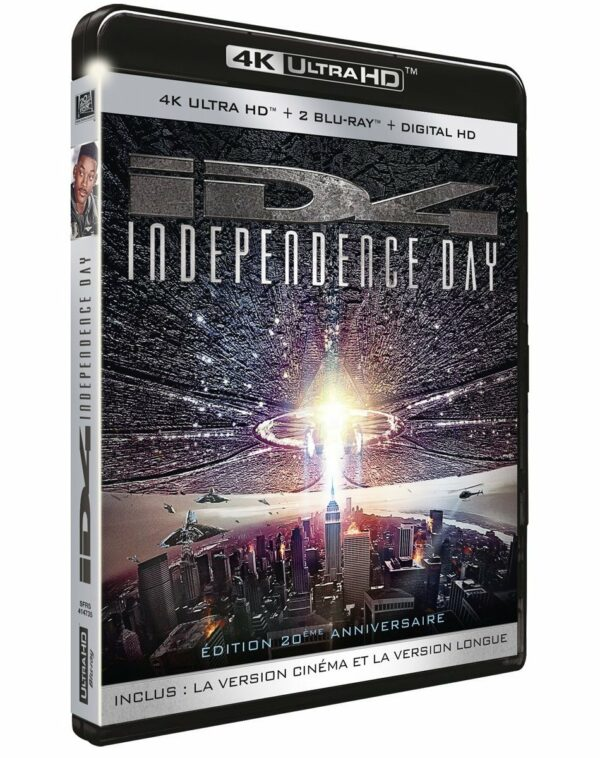 Independence Day BluRay 4K + BluRay 1080p 1