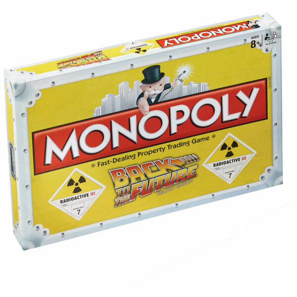 Monopoly Back to the Future Trilogy Edition 1