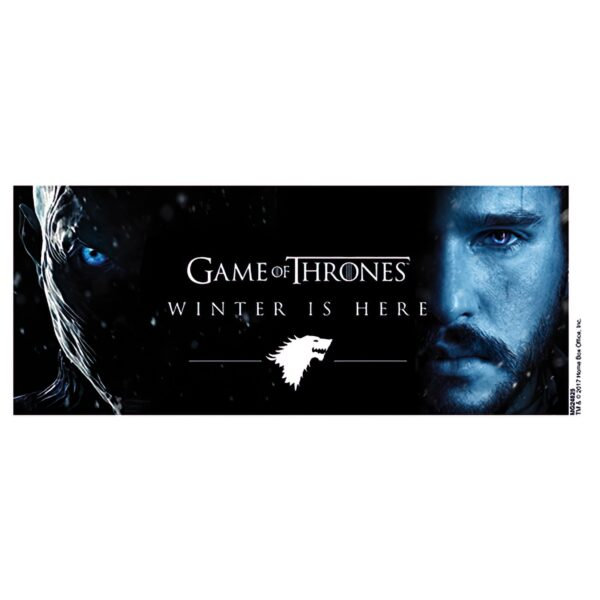 Mug 315ml Game of Thrones Winter Is Here - Jon 2