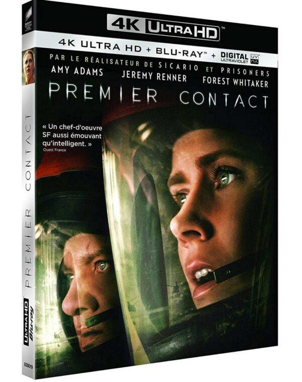 Premier Contact BluRay 4K + BluRay 1080p 1