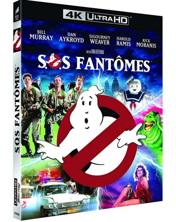 Sos Fantomes Blu-Ray 4K Ultra HD 1