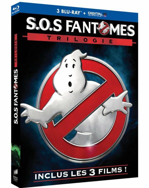 S.O.S Fantomes BluRay les 3 films 1