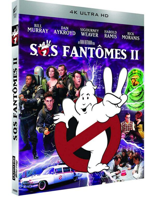Sos Fantomes II Blu-Ray 4K Ultra HD 1