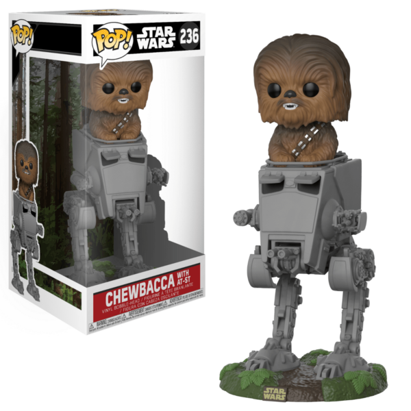 Funko Pop! Star Wars 236 Chewbacca with AT-ST 1