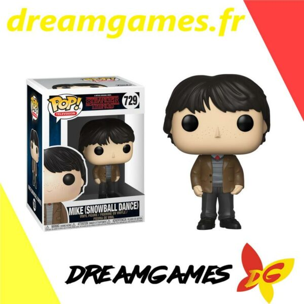 Funko Pop Stranger Things 729 MIKE SNOWBALL DANCE 1