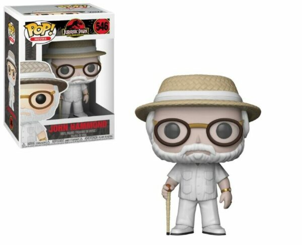 Funko Pop! Jurassic Park 546 John Hammond VAULTED 1