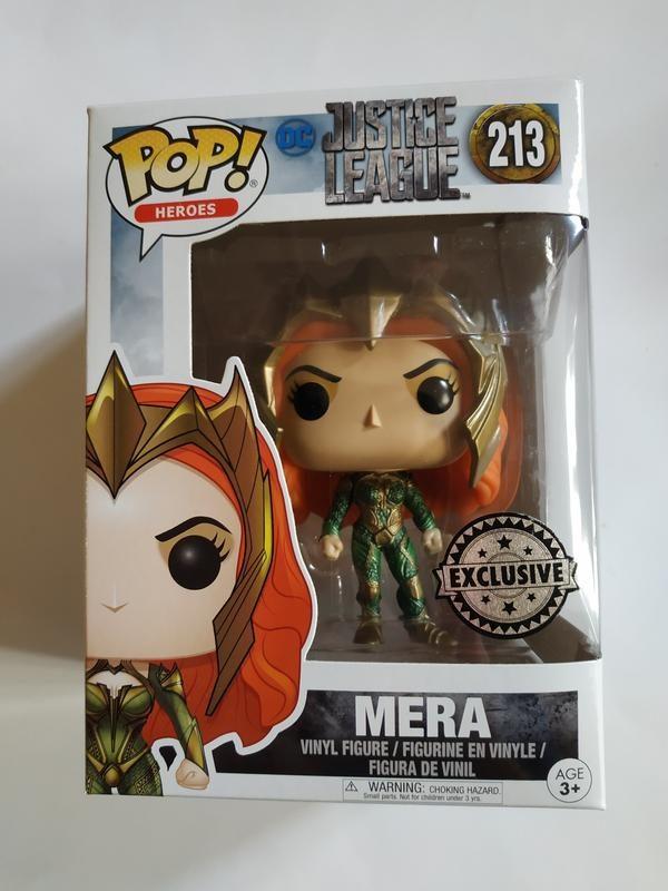 Funko Pop! Justice League 213 Mera Exclusive 1