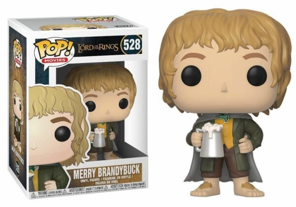 Funko Pop! The Lord of the Rings 528 Merry Brandybuck (not mint) 1