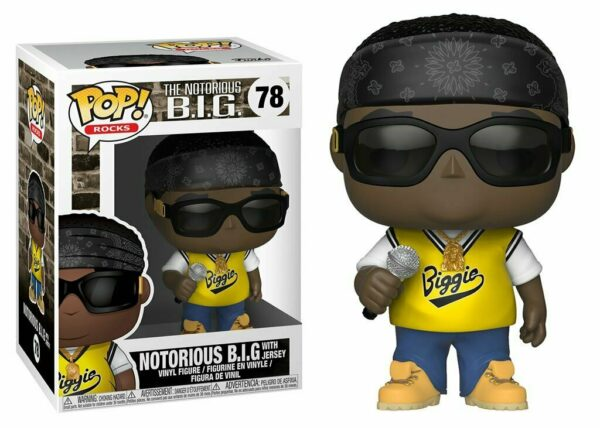 Funko Pop! Rocks The Notorious B.I.G. 78 with jersey 1