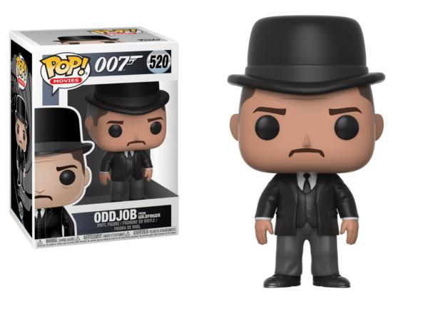 Figurine Pop 007 James Bond 520 Oddjob Goldfinger