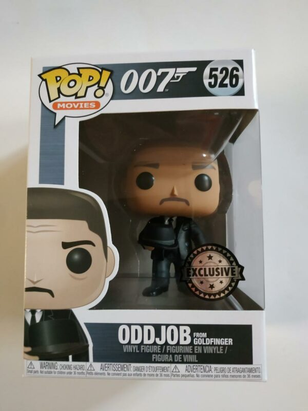 Funko Pop! 007 Oddjob from Goldfinger 526 Exclusive 1