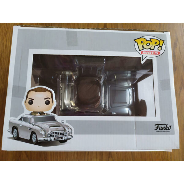 "Funko Pop! 007 ""rides"" James Bond with Aston Martin (Not mint) 3"